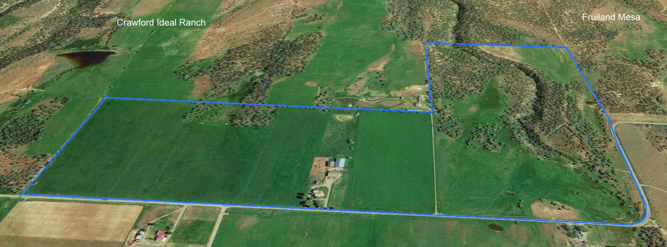 Crawford Ideal Ranch aerial